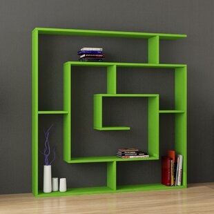 Green Bookcases