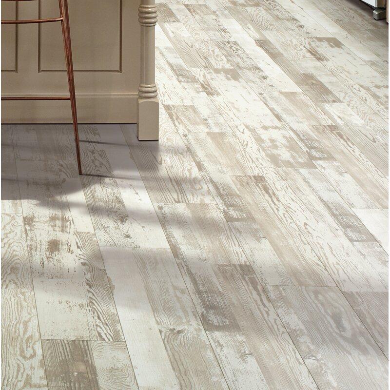 Cashe Hills 7 5 X 47 25 87mm Pine Laminate Flooring In White