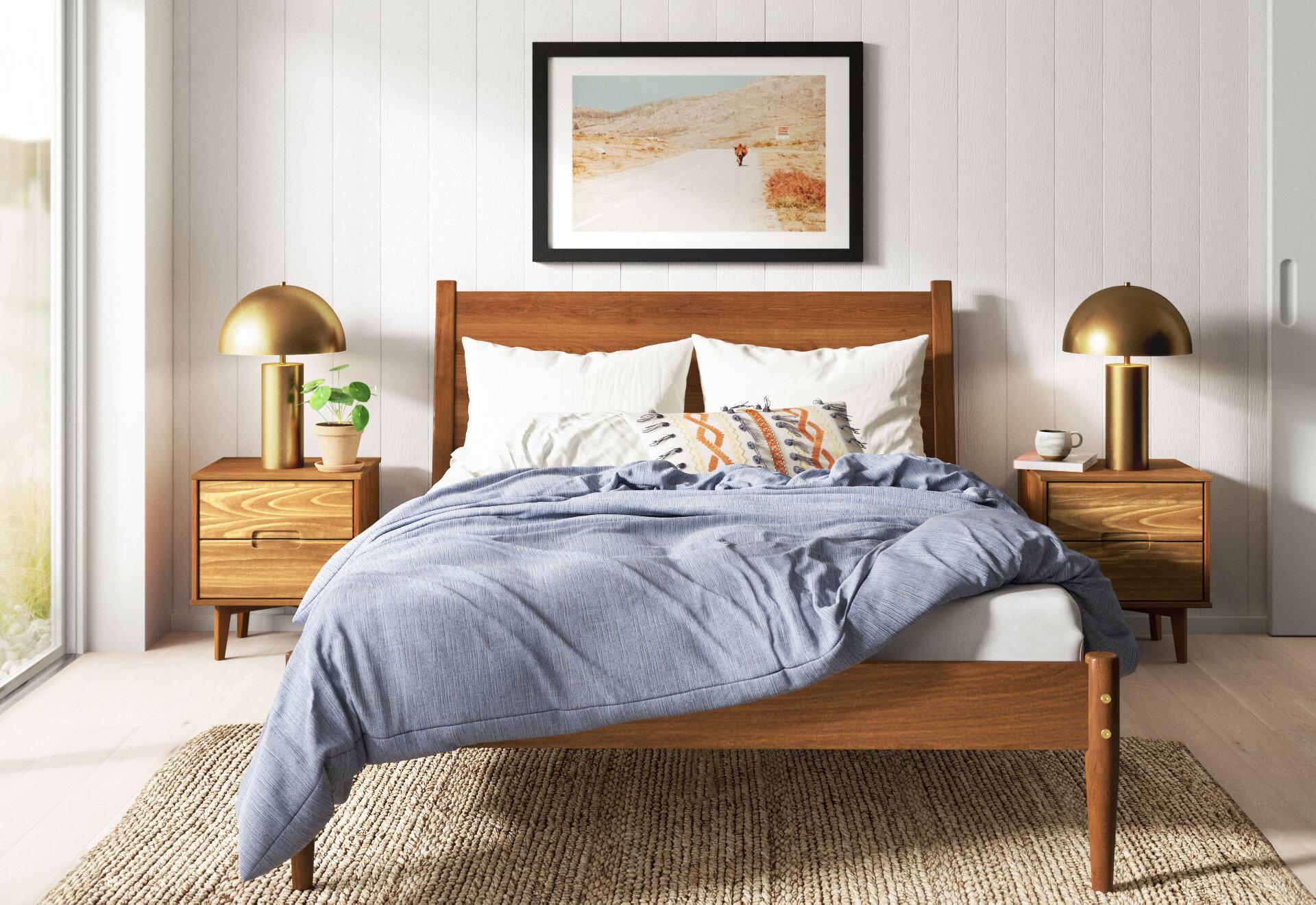 19 Incredibly Cool Modern Bedroom Ideas Allmodern