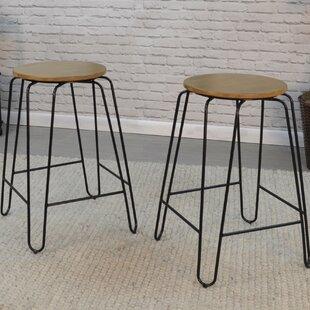 Tabourets sans dossier  Style d assise - Assise ronde   Wayfair.ca a64783200cbf
