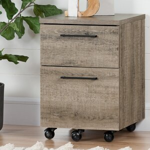 Munich 2 Drawer Mobile Vertical Filing Cabinet