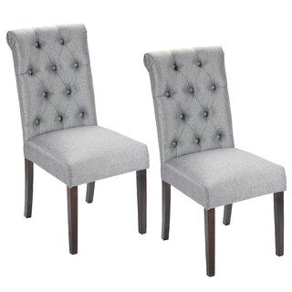 Alarik Upholstered Dining Chair (Set of 2) by House of Hampton SKU:CD981385 Buy
