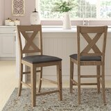 Cliffe 24 Bar Stool (Set of 2) by Gracie Oaks
