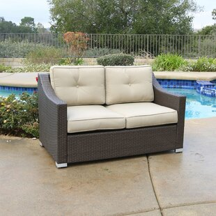 Purchase Leahy Loveseat with Cushions Compare & Buy