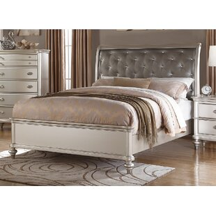 Akiva Upholstered Panel Bed by House of Hampton