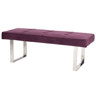 Iconic Home Wayne Upholstered Bench