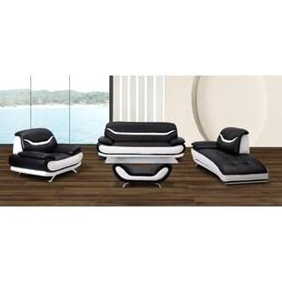 Orren Ellis Danes 4 Piece Living Room Set