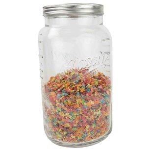 Glass Storage 4 qt. Canning Jar