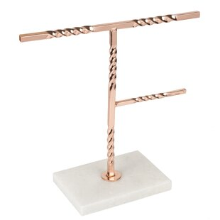 Best Price Copper Plated Jewelry Stand ByRed Barrel Studio
