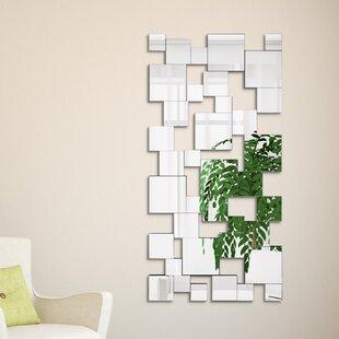Great deal Funke Elegant Cluster Wall Mirror ByWrought Studio