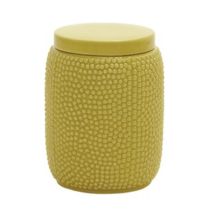 Simple and Lovely Ceramic Storage Jar