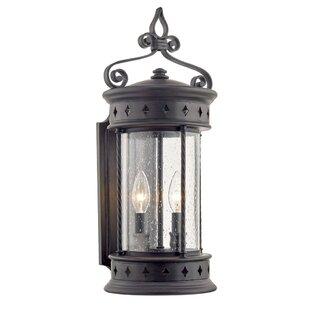 Fleur De Lis Living Mindenmines 2-Light Outdoor Wall Lantern