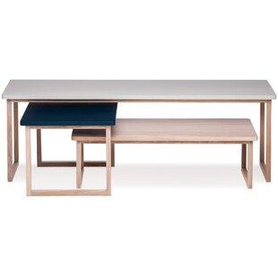 Riner 3 Piece Coffee Table Set By Brayden Studio