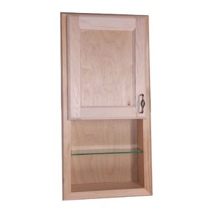 Read Reviews Christopher 15 x 31 Recessed Medicine Cabinet ByWG Wood Products