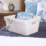 Paper Rope Wicker Basket by Highland Dunes