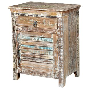 Desirae 1 Drawer Nightstand