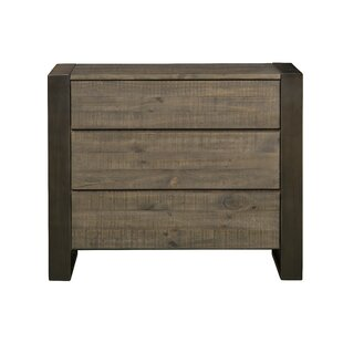 Compare prices Aahil 3 Drawer Bachelor's Chest by Foundry Select