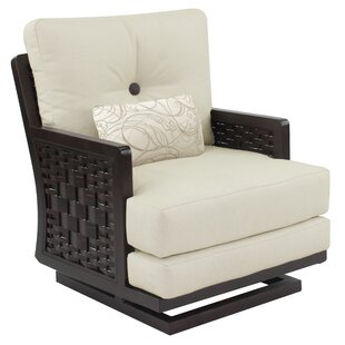Spanish Bay Swivel Rocking Chair with Cushion