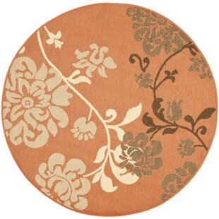 Laurel Contemporary Natural/Brown Indoor/Outdoor Area Rug