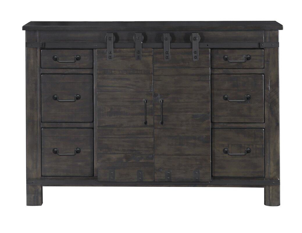 6 Drawer Combo Dresser