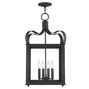 Bloomsbury Market Conleth 4-Light Foyer Pendant