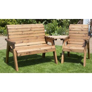 Wooden Love Seat By Sol 72 Outdoor