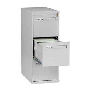 Gray 3 Drawer Filing Cabinets You'll Love | Wayfair
