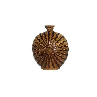 Loon Peak Wessels Elegantly Charmed Leaf Polyresin Floor Vase Wayfair