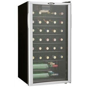35 Bottle Single Zone Freestanding Wine C..