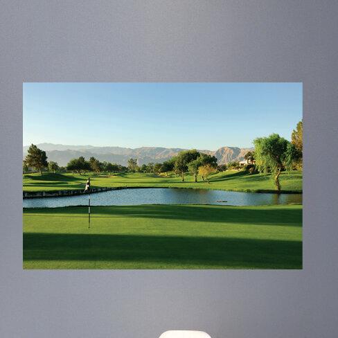 Wallhogs Palm Springs Golf Course Wall Mural Wayfair