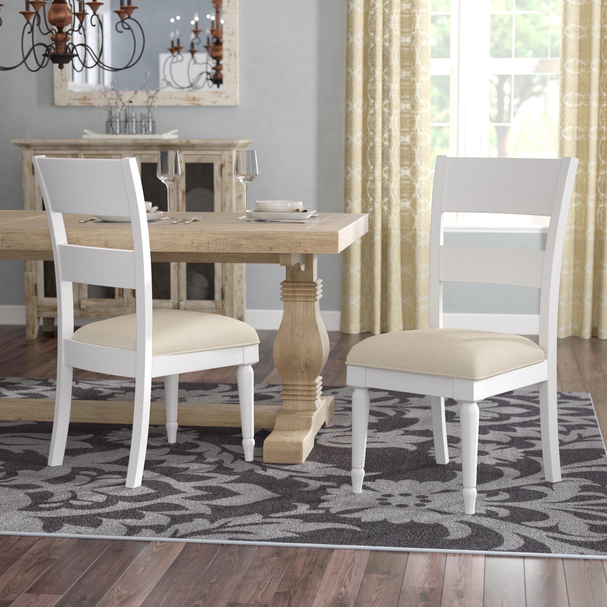 Lark Manor Saguenay Upholstered Dining Chair Reviews Wayfair