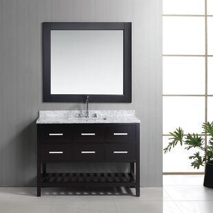 Middletown 48 Single Bathroom Vanity Set with Mirror ByAndover Mills