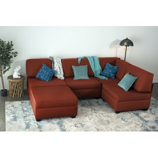 Grimmer Multi-Functional Reversible Modular Sectional with Ottoman by Latitude Run