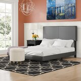 Seevers Upholstered Standard Bed by Charlton Home®