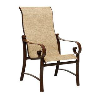 Belden High Back Patio Dining Chair by Woodard