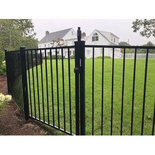 4 Ft. Texas Metal Gate By Wayside - State Line Of Aluminum Fence
