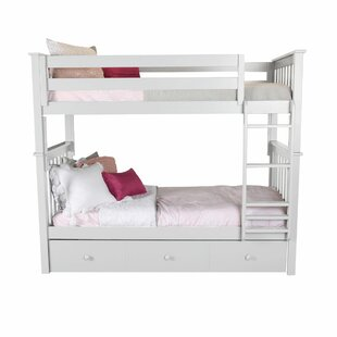 Harriet Bee Schofield Bunk Bed with Trundle
