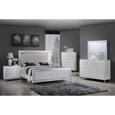 Panel 4 Piece Bedroom Set Best Quality Furniture
