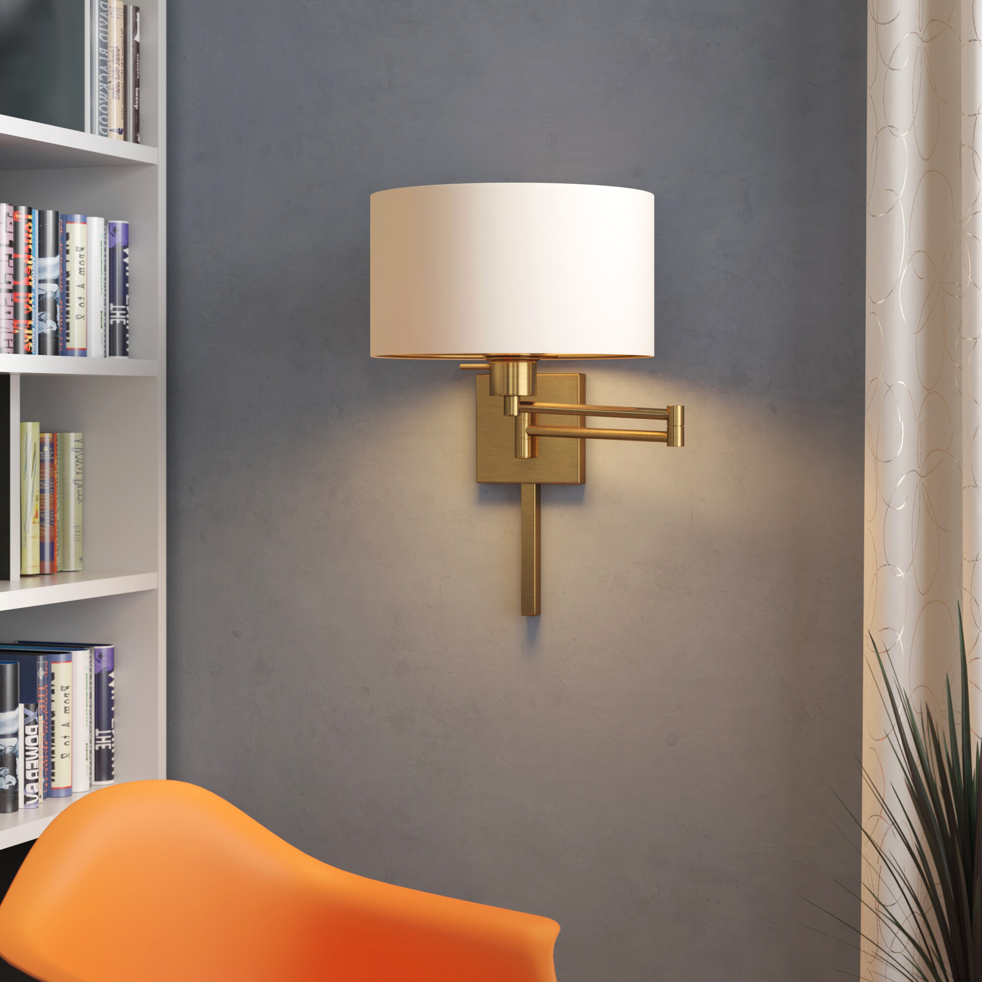 Antique Brass Plug In Wall Sconces You Ll Love In 2020 Wayfair