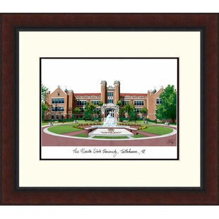NCAA Florida State Seminoles Legacy Alumnus Lithograph Picture Frame By Campus Images