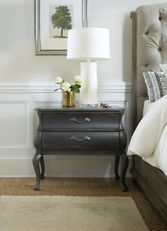 Hooker Furniture Woodlands 2 Drawer Nightstand