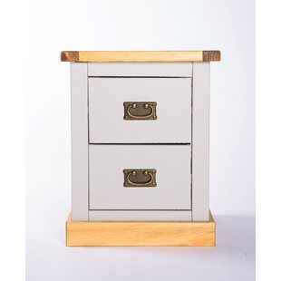 Chenery 2 Drawer Bedside Table By Brambly Cottage
