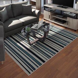 Lucia Black/Gray/Green Indoor/Outdoor Area Rug ByZipcode Design