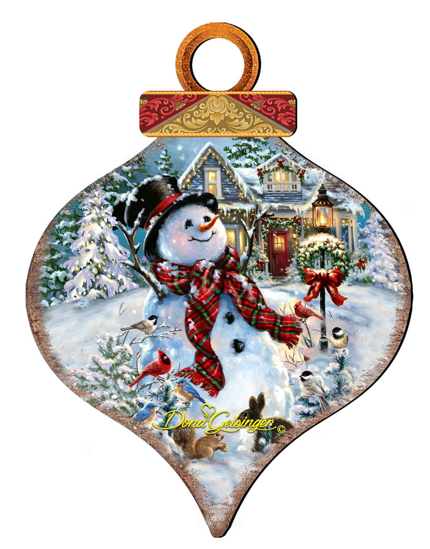 Designocracy An Old Fashioned Christmas Drop Holiday Shaped Ornament Wayfair