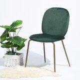 Brando Velvet Parsons Chair (Set of 2)