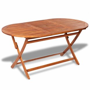 Carlisle Folding Wooden Dining Table By Sol 72 Outdoor