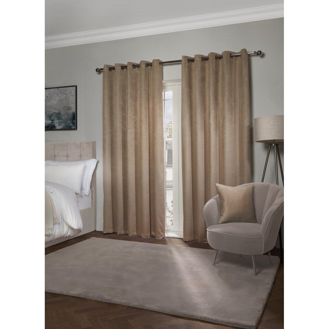 Vanhorne Ambiance Eyelet Room Darkening Thermal Curtains