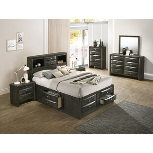 Red Barrel Studio Carle Platform 4 Piece Bedroom Set