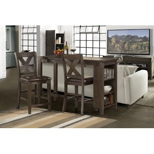 Balmer Spencer 3 Piece Counter Height Dining Set Gracie Oaks
