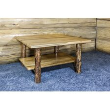Tustin Cabin Wooden Coffee Table by Loon Peak